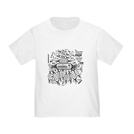 Creative Thought Graphic Toddler T-Shirt