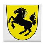 Stuttgart Coat of Arms Tile Coaster