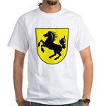 Stuttgart Coat of Arms White T-Shirt