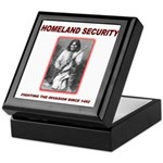 Homeland Security Geronimo Keepsake Box