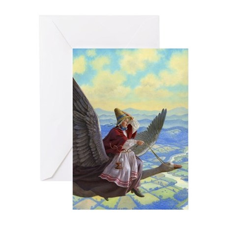 Mother Goose Greeting Cards (Pk of 10)