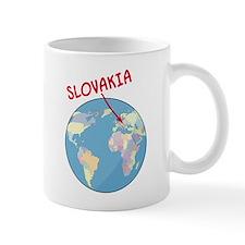 Slovakia Globe Mug