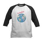Slovakia Globe Kids Baseball Jersey