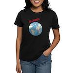 Slovakia Globe Women's Dark T-Shirt
