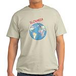 Slovakia Globe Light T-Shirt