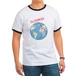 Slovakia Globe Ringer T