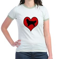 Golden Retriever heart T