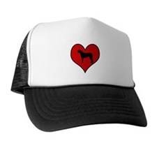 Irish Wolfhound heart Trucker Hat