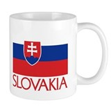 Slovakia Flag Mug