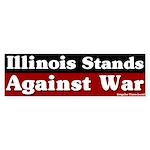 Illinois Anti-war Bumper Sticker