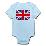 British Flag Infant Bodysuit