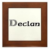 Cute Declan Framed Tile
