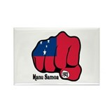 Samoa Fist 1923 Rectangle Magnet (100 pack)