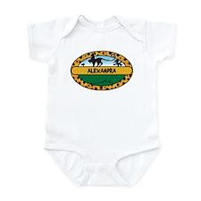 ALEXANDRA - safari Infant Bodysuit
