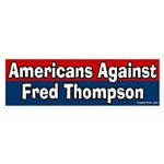 Americans Against Fred Thompson