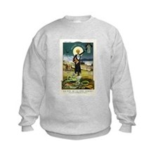 Swiss Absinthe Prohibition Poster (1910) Sweatshirt