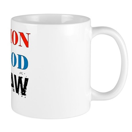 Under God Above Law Mug
