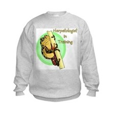 Herpetologist in Training Sweatshirt