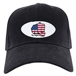 USA Fist 1975 Black Cap