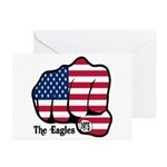 USA Fist 1975 Greeting Cards (Pk of 10)