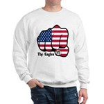 USA Fist 1975 Sweatshirt