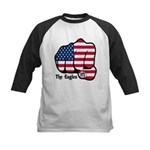 USA Fist 1975 Kids Baseball Jersey