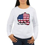 USA Fist 1975 Women's Long Sleeve T-Shirt