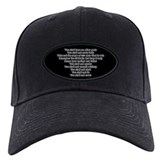 Ten Commandments Baseball Cap