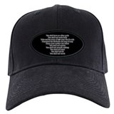 Ten Commandments Baseball Hat