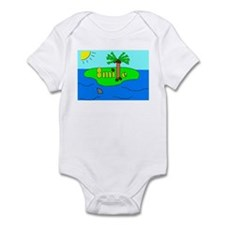 Funny Pet art Infant Bodysuit