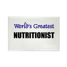 Worlds Greatest NUTRITIONIST Rectangle Magnet
