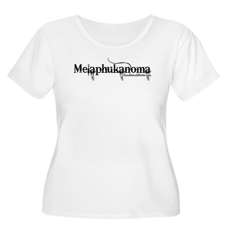 Melaphukanoma Women's Plus Size Scoop Neck T-Shirt