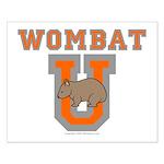 Wombat U III Small Poster