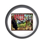 Bocce Wall Clock