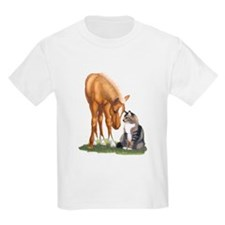 Mini Horse and Cat T-Shirt