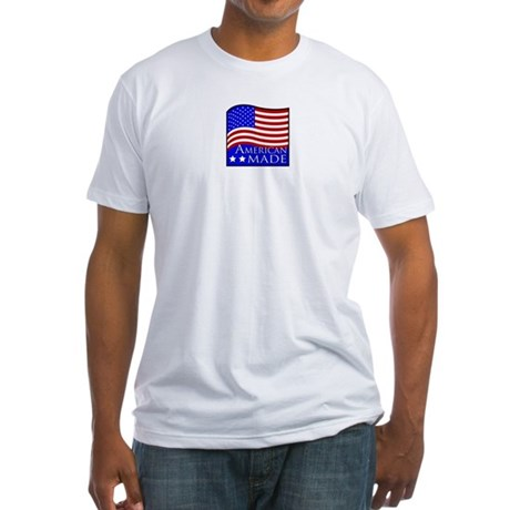 American Made Fitted T-Shirt