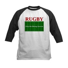 Rugby - Only the Strong Survi Tee