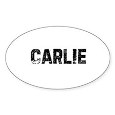 Carlie Oval Decal
