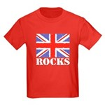 Britain Rocks Kids Dark T-Shirt