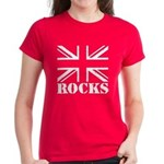Britain Rocks Women's Dark T-Shirt