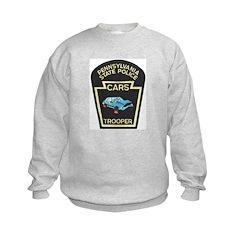 PA State Police CARS Kids Sweatshirt