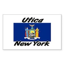Utica New York Rectangle Decal