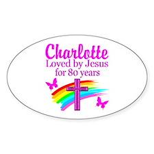 80TH PRAYER Stickers