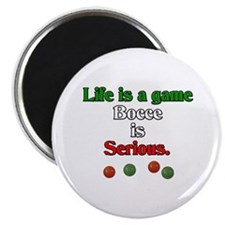 Bocce Is Serious Magnet