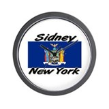 Sidney New York Wall Clock