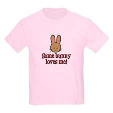Some Bunny Loves Me T-Shirt (Brown)