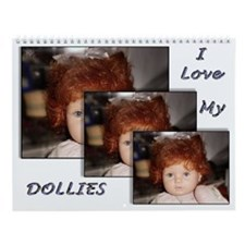 Collectable Doll Calendar