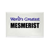 Worlds Greatest MESMERIST Rectangle Magnet (10 pac