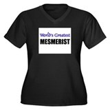 Worlds Greatest MESMERIST Women's Plus Size V-Neck