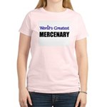 Worlds Greatest MERCENARY Women's Light T-Shirt